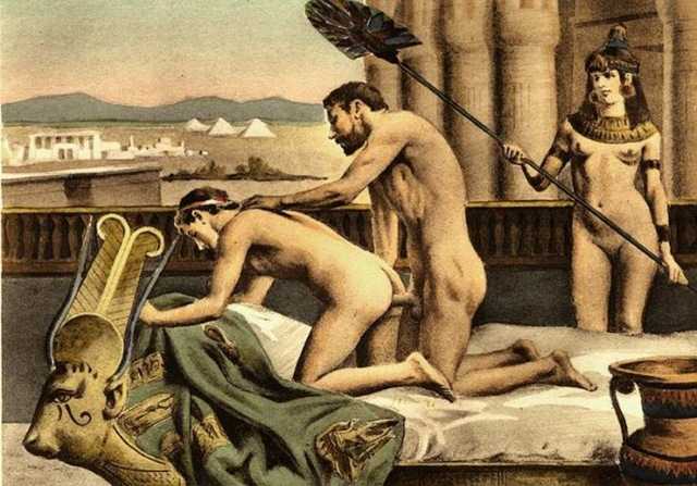 Порно геи древний рим