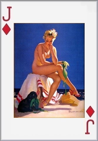 карты игральные голые