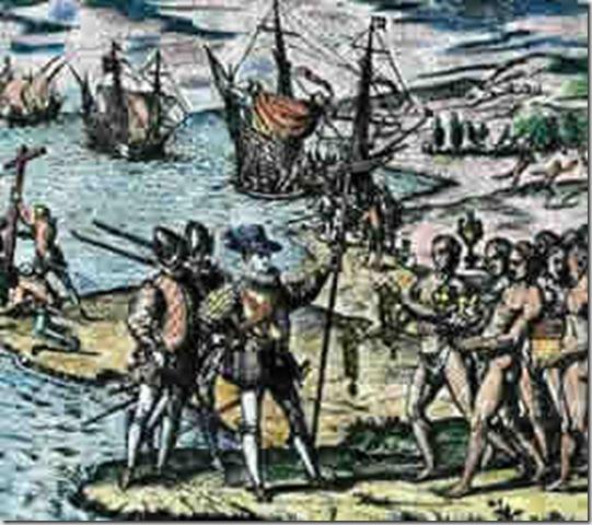 spanish influence on the tainos
