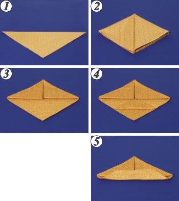 Исходная форма салфетка