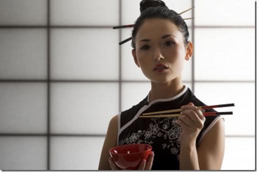 стройные азиатские японские девочки разделись