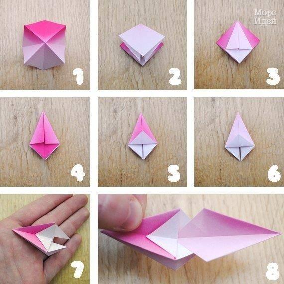 Оригами своими руками новогодние