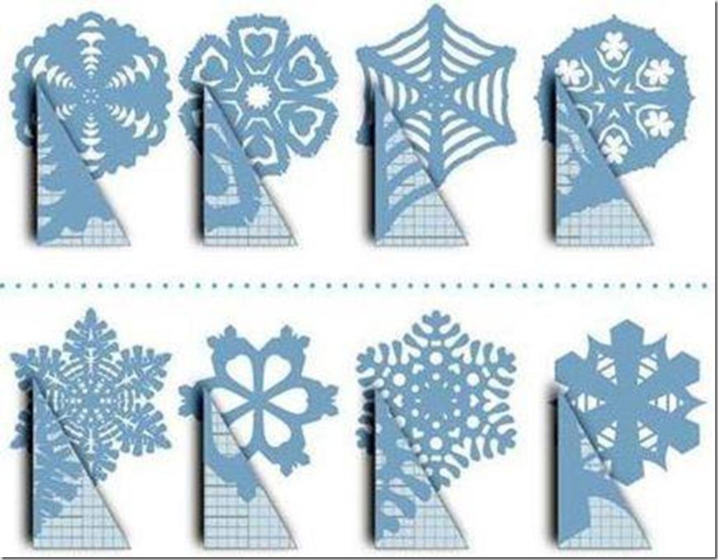 Как вырезать снежинку из бумаги своими руками видео